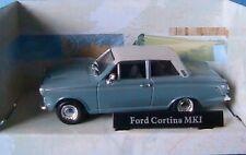 FORD CORTINA MKI MK1 CARARAMA 1/43 1:43 LAGOON ERNINE BLUE WHITE ROOF