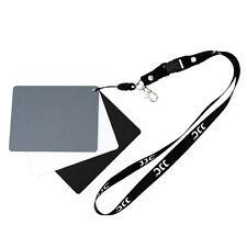 Jjc 3in1 gris tarjeta al balance de blancos con negro y blanco de referencia (grande) gc-3