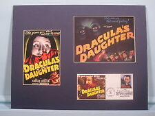 """Dracula's Daughter"" and the First Day Cover of the Bela Lugosi as Dracula stamp"