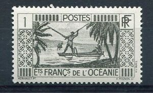 OCEANIE, 1939, timbre 84, Pêcheur, neuf**