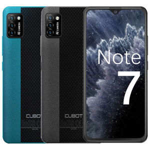 """Unlocked 5.5"""" CUBOT Note 7 4G Smartphone 2*SIM Face ID Quad Core Cell Android 10"""