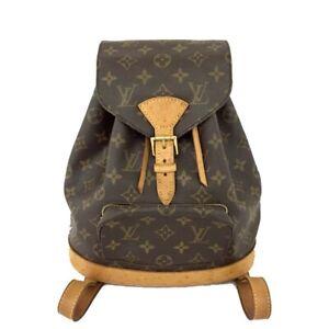 Louis Vuitton Monogram Montsouris MM Backpack /C1097