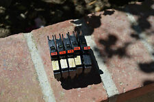 Lot of 5 Federal Pacific 15 amp Circuit Breaker (stab-lock)