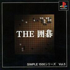 PS1 Spiel - Simple 1500 Series vol. 5: The Igo JAP mit OVP sehr guter Zustand