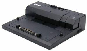 Dell Pro3x USB 2.0 E-Port Replicator Cord Black  E PR03X