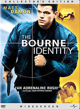 The Bourne Identity (DVD, 2003, Widescreen) DISC IS MINT