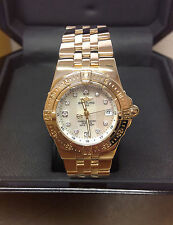 Breitling Starliner K71340 18ct Yellow Gold Diamond Dial - Box & Papers - 2010