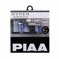 PIAA H4 car headlight bulb Hyper Arros +120% 12V 60/55W 3900K P43t HE900 2pc