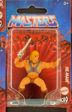 HE-MAN MOTU Masters of the Universe mini figure vinyl figurine toy Mattel! NOW