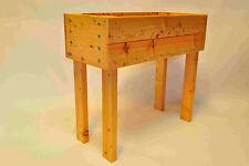 Extra High Wooden Trough 0n 900mm high legs. Extra high Wooden Planter