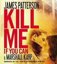 KILL ME IF YOU CAN unabridged audio book on CD by JAMES PATTERSON
