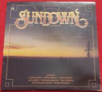 Sundown K-Tel LP 1980 Original Vinyl Album - Willie Nelson, Barbra Mandrell
