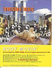 BEASTIE BOYS Body Movin TRADE AD POSTER for hello CD
