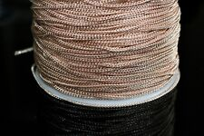 15ft 2x1mm Copper Over Brass Curb Chain-Soldered 1-3 day Ship