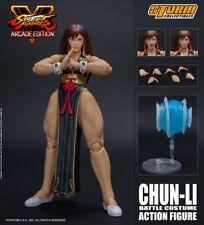 Street Fighter ~ HOT CHUN-LI (BATTLE DRESS VERSION) 1/12 SCALE ACTION FIGURE