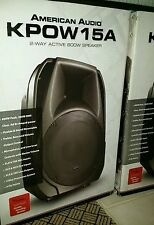 American Audio KPOW15A , Active 800W Speaker.