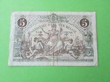5 Frank - Francs - bankbiljet van 1918