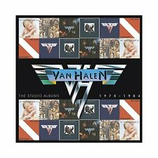 VAN HALEN THE STUDIO ALBUMS 1978-1984: 6CD BOX SET (February 25th 2013)