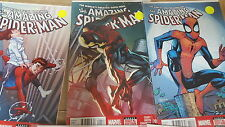 amazing Spiderman Comics variants venom bulls-eye goblin 654 657 658 596 600 700