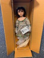 Künstlerpuppe Porzellan Puppe 60 cm. Ovp & Zertifikat. Top Zustand