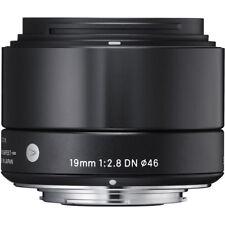 Sigma 19mm f/2.8 DN Lens for Sony NEX E-mount Cameras (BK) US Authorized Dealer