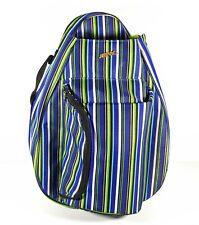 Jetpac Stripped Green Blue Padded Tennis Bag Life Is Tennis Lynne Tauchen