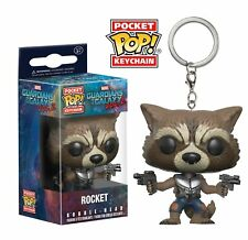 GUARDIANS OF THE GALAXY VOL.2 - ROCKET RACCOON POCKET POP! VINYL KEYRING (NEW)