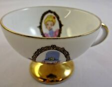 Vintage Disney Disneyland Tiny Teacup Demitasse Keystone Cops Pink Lady Rare Old
