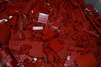 ☀100+ RARE DARK RED LEGO PIECES FROM HUGE BULK LOT PARTS @ RANDOM