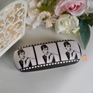 NEW - Audrey Hepburn Film Strip Hard Glasses/Sunglasses Case - Birthday Gift