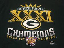 True Vintage 1997 Green Bay Packers Super Bowl 31 Champs XXL Sweatshirt NFL 90s