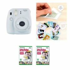 Fujifilm Instax Mini 9 cámara humo blanco 2 Packs Fuji Film 20 Foto 8