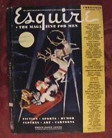 RARE ESQUIRE magazine DECEMBER 1942 WWII VARGA pinup SALVADOR DALI Janet Blair