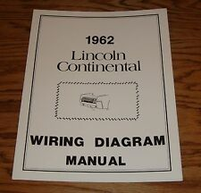 1962 Lincoln Wiring Diagram Manual