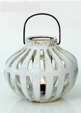 Windlicht Keramik Weiß Landhaus 17293 Dekoration Wohnen Deko Edel Teelicht Kerze