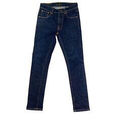 Nudie Skinny Jeans Lean Dean Dry 16 Dips Size 28 Mens Organic Dark Denim