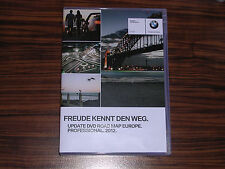 BMW - ROAD MAP EUROPE Professional 2012 Navi DVD E60 E90 E70 E81 E71 Navigation