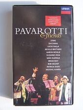 Pavarotti and Friends VHS Video Tape