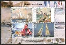 NIGER 1998 SAILING SHIPS SHEETLET MNH