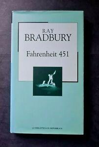 FAHRENHEIT 451 RAY BRADBURY LA BIBLIOTECA DI REPUBBLICA 2003 NOVECENTO N. 72