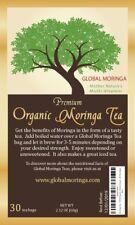 Organic Moringa Herbal Tea (30 Bags) GHANA GROWN, AMERICAN SELLER Nutritious