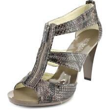 Sandali e scarpe cinturini alla caviglia Michael Kors marrone per il mare da donna