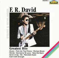 F.R. DAVID - Greatest Hits > CD Album , RAR 1982