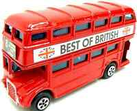 London Bus Red Bus Die Cast Bus London Red Bus Metal Bus Toy Double Decker Bus