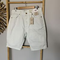 "Denim & Co Mens Shorts Size 34 "" 86 cm Pale Green"