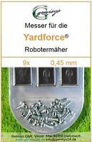 30 Ersatz-Messer Qualitäts-Klingen 0,45mm für ALDI Yardforce R500EASY