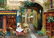 """[ Impuzzle ] """"Trattoria - Cafe alley""""   1000 Piece Jigsaw Puzzles"""