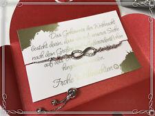 Weihnachtsgeschenk Weihnachten Armband Schmuck silber Schwester Geschenk klein