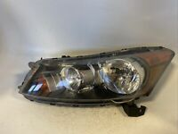 2008-2012 Honda Accord Sedan Driver LH Left Halogen Headlight OEM M0924