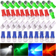 40Pcs Color Mixed W5W T10 194  158 168 2825 LED Car Instrument Dash Light Bulbs